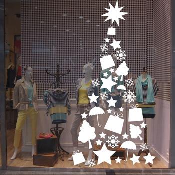 Оформление магазинов к новому году своими руками